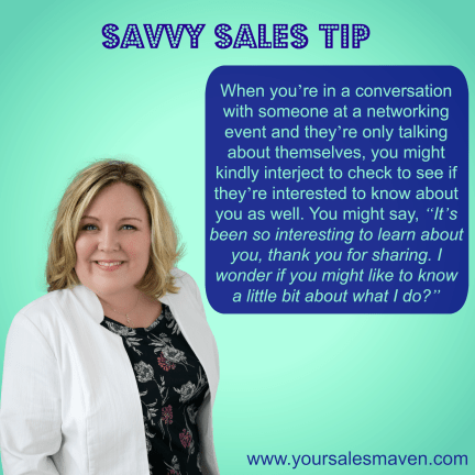 Networking, Business conversations, Sales tips, Selling techniques, conversations