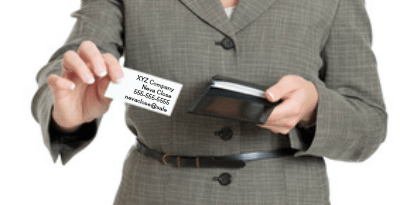 What not to do when selling, handing out business cards, savvy selling, savvy sales tips, rapport breaker, sales,