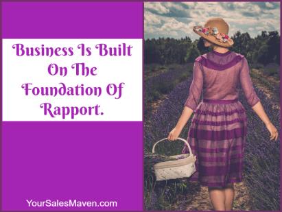 being right, rapport, sales, Sales Maven, Nikki Rausch