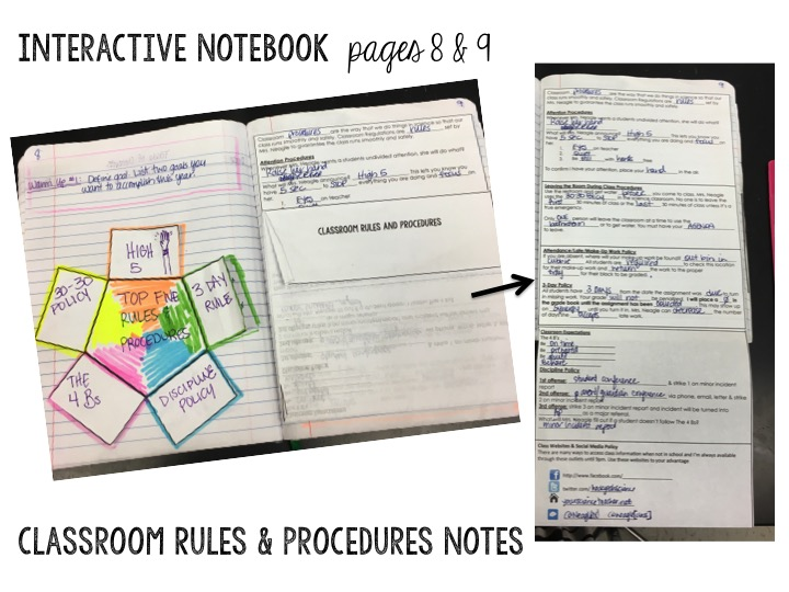 Rules & Procedures p 8-9