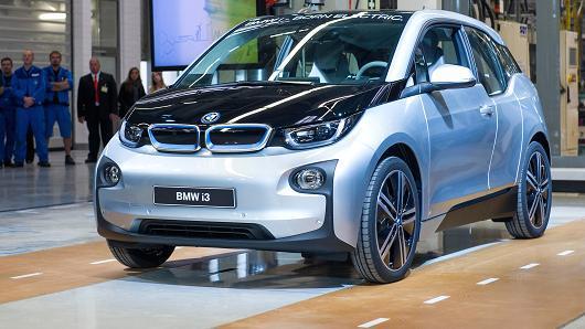 Apple electric car BMW i8