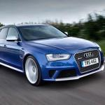 New Audi RS4 Saloon Version with E-Turbo Motor to be Released in 2016
