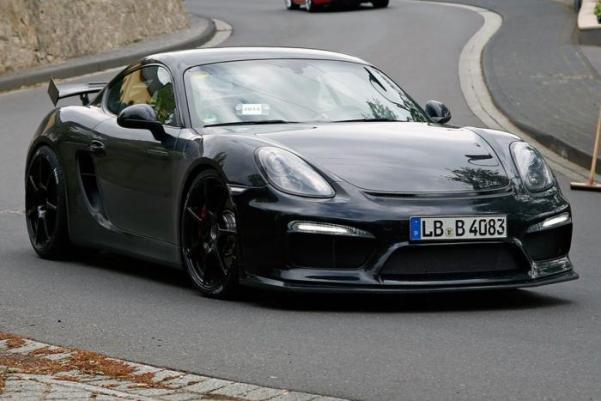Porsche Cayman GT 2016