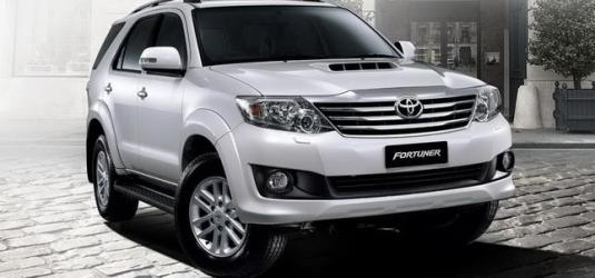 Toyota Fortuner SUV Coupe