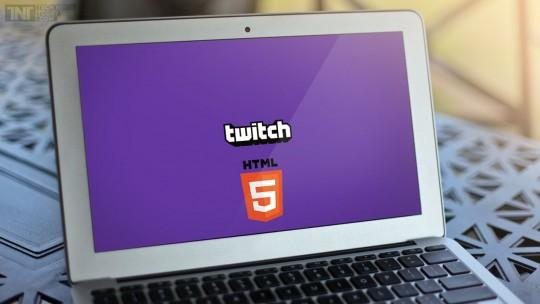 Twitch YouTube Adobe Flash Player HTML 5