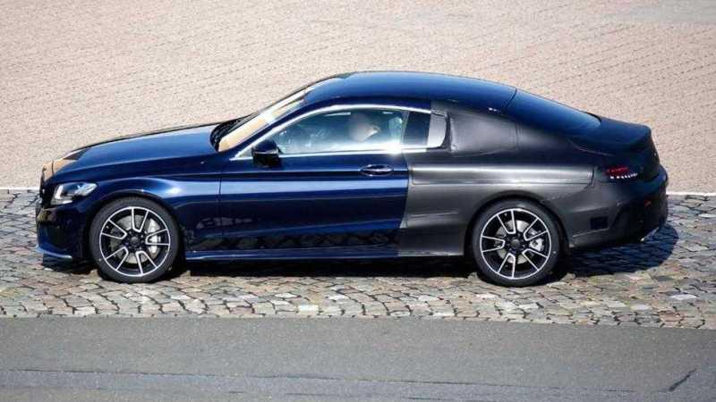 2016 Mercedes C-Class Coupe C63 AMG Spy Photos