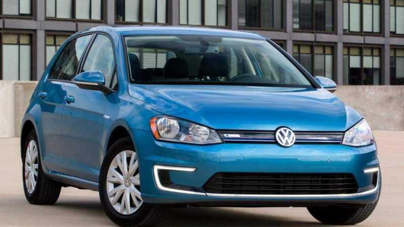 2016 Volkswagen e-Golf Edition