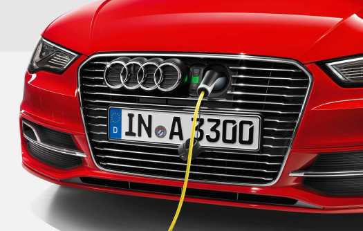 Audi A3 etron charge