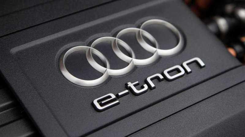 Audi e-tron electric car