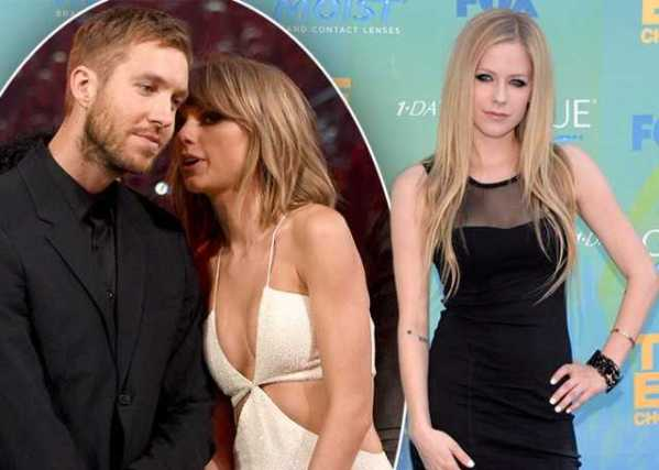 Avril Lavigne Taylor Swift Calvin Harris