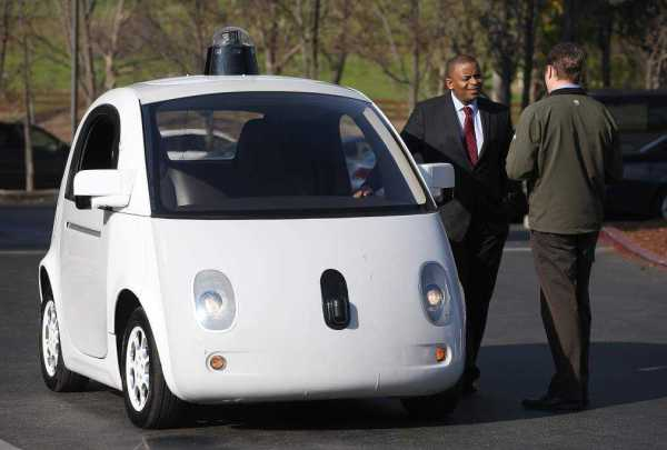 Transportation Sec'y Foxx Discusses Future Transportation Trends With Google CEO