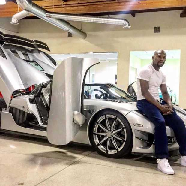 Floyd Mayweather is a Proud Owner of One of Only Two Koenigsegg CCXR Trevita