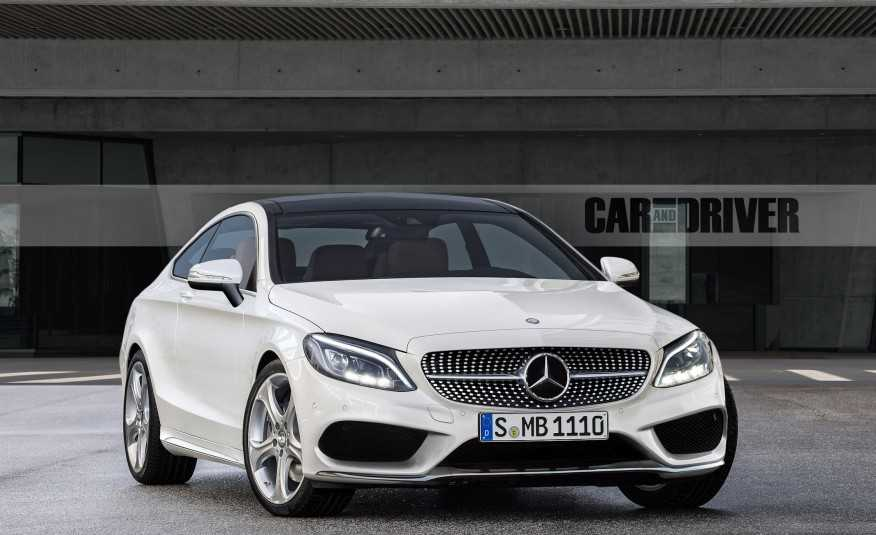 Leaked Images Show the 2017 Mercedes-Benz C-Class Coupe in Full Glory