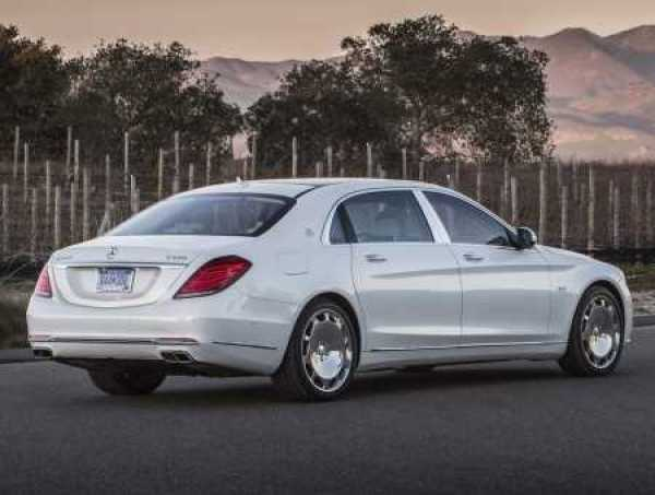 Mercedes Maybach S600 2016 Edition