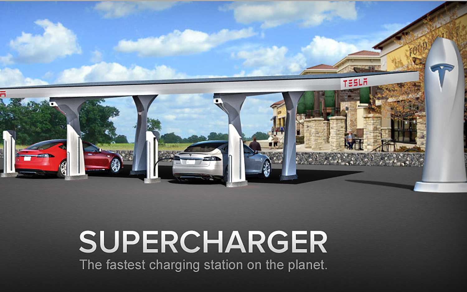 Tesla Motors Upcoming Charging Stations In New York Will Facilitate Wiring Garage For Model S Owners