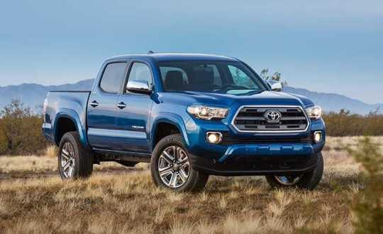Toyota Tacoma 2016 Features