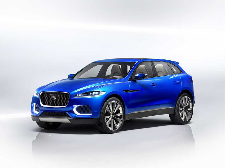 2017 Jaguar F-Pace Crossover Makes Official Debut at the Frankfurt Motor Show 2015