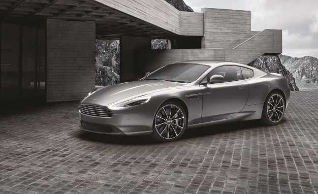 Aston Martin Unveils a Limited 007 Bond Edition DB9 GT with Custom Logos