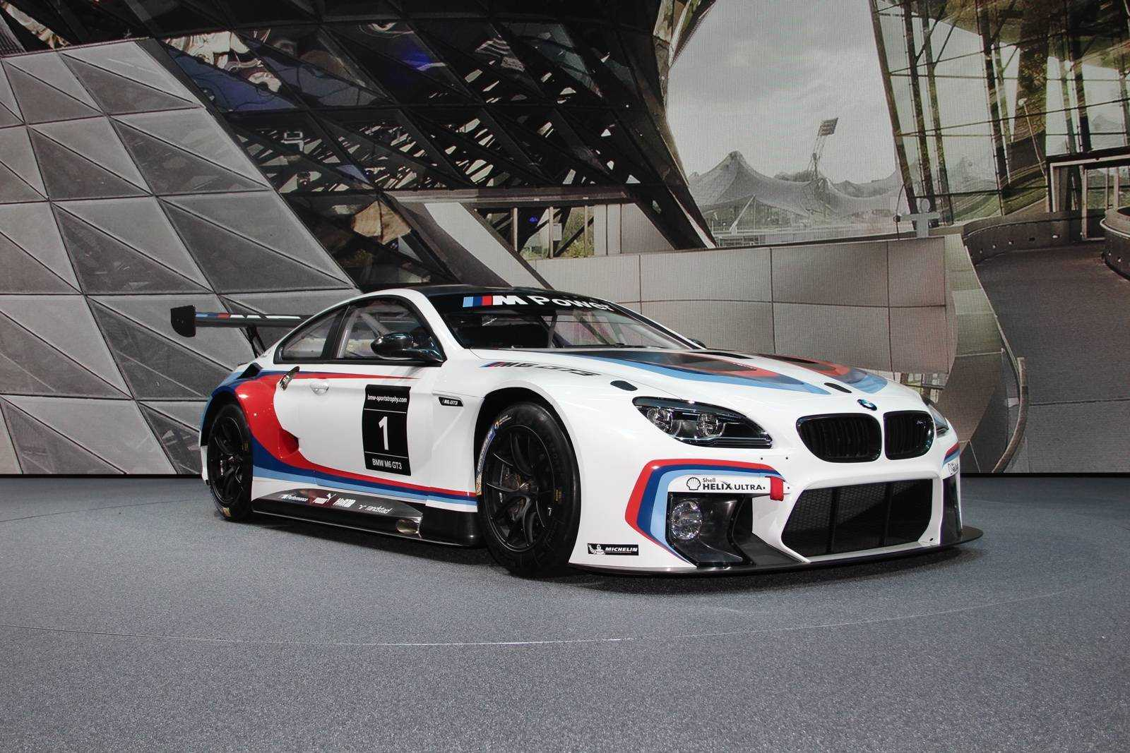 Bmw M6 Gt3 Debuts At The 66th Iaa Cars 2015 All Set To