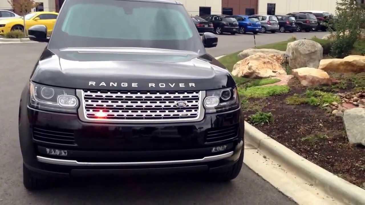 Land Rover Builds Bulletproof Range Rover Sentinel