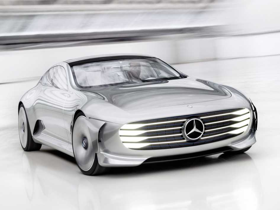 Mercedes Benz Concept IAA is a Car that Redefines the Term 'Futuristic'