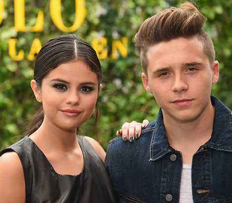 Brooklyn Beckham Selena Gomez Espied Cuddling Together at the NYFW Party Much to Fans' Delight