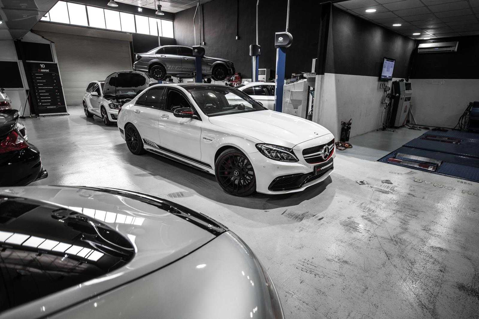PP-Performance Adds Power to Mercedes-AMG C63 and GT with no Physical Intervention