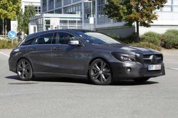 2016 Mercedes Benz CLA Shooting Brake