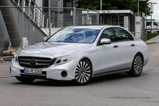 2016 Mercedes Benz E-Class-Spy-Photos