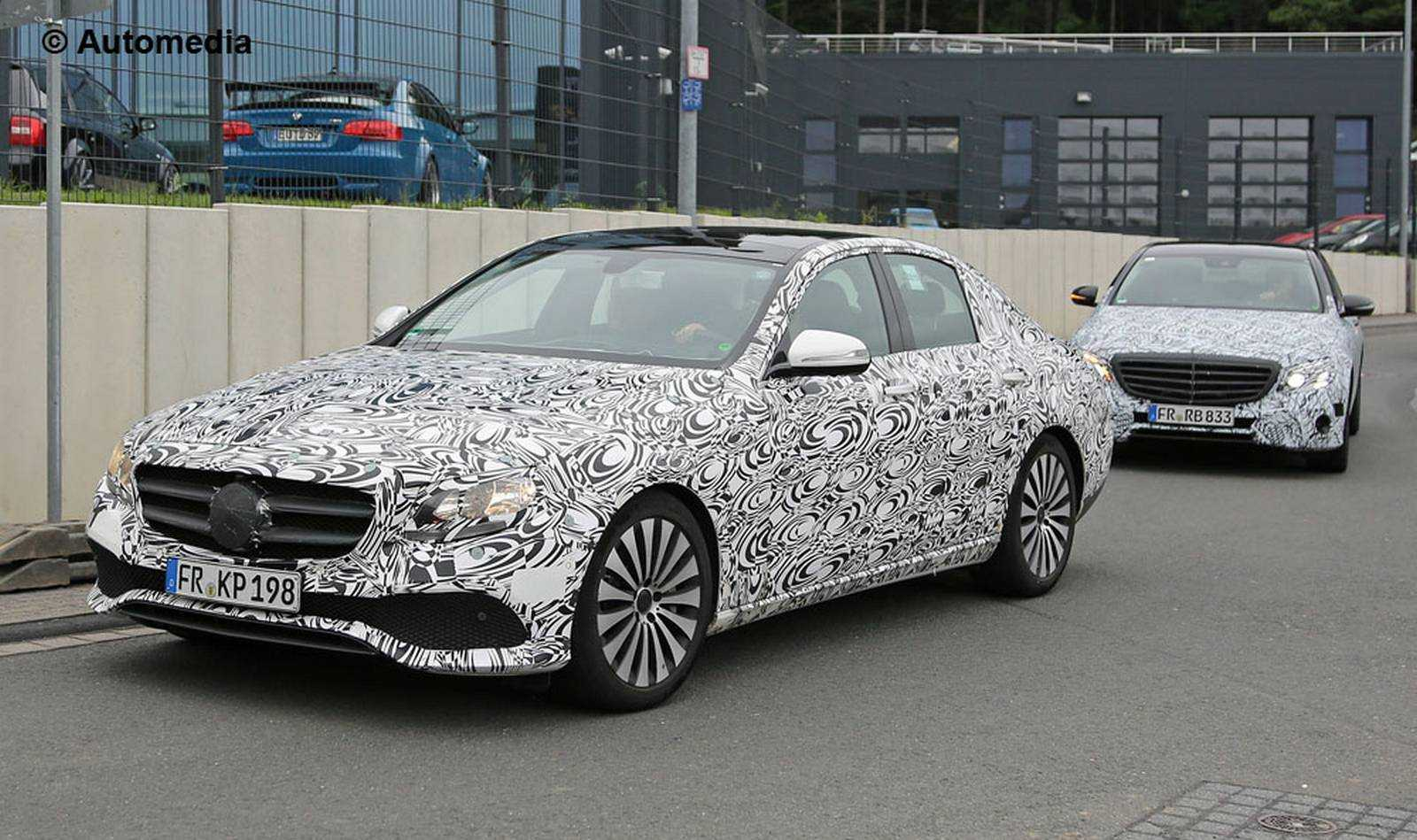 All-New 2017 Mercedes-Benz E-Class Gets Curtain Raiser Preview and Photo Shots