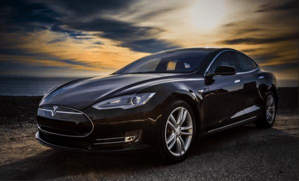 Tesla Model S P90D Electric Car