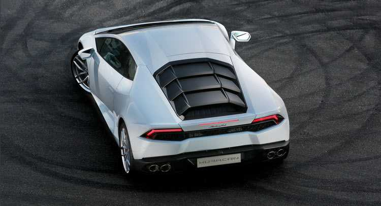 Lamborghini Huracan with Rear Wheel Drive set for LA Auto Expo Reveal