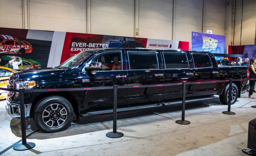 Toyota Brings Tundrasine, a 26 Feet Long Limo with Eight Doors