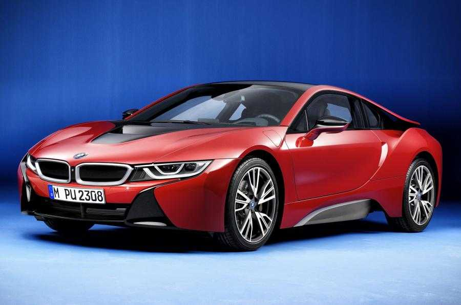 BMW i8 Protonic Red is a Limited Edition Model That's All-Red