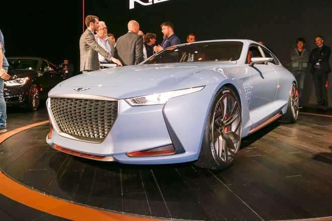 Genesis New York Concept Launched In Auto Show