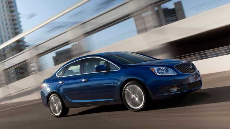 2014 Buick Verano Turbo right