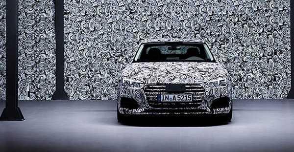 2017 Audi A5 front