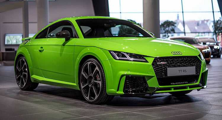 Lime Green Audi TT RS Brings Fast and Furious Cars to Life
