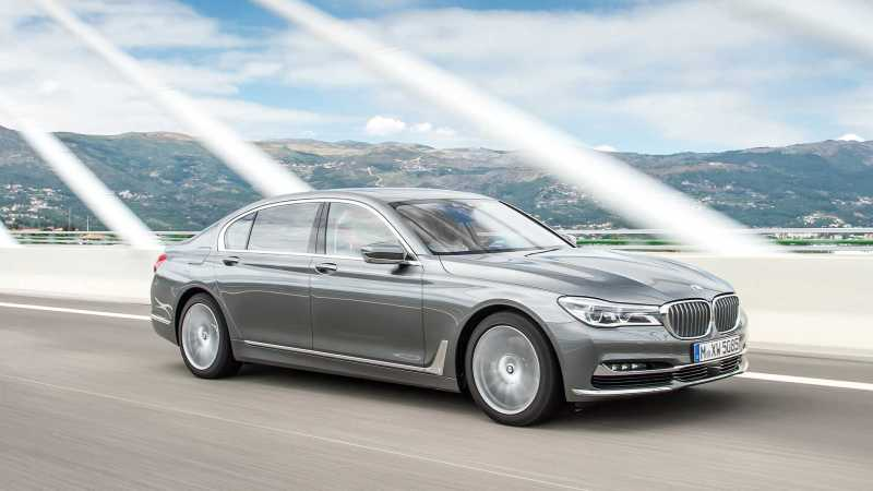 BMW 750d Quad Turbo front