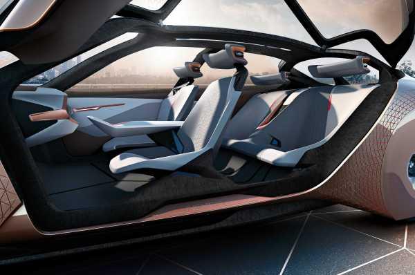 BMW Vision Next car interior