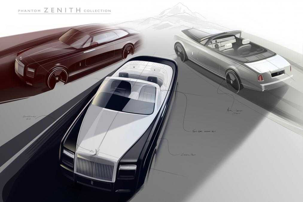 Rolls Royce Zenith Collection Is Limited and Last Of The Phantom Series