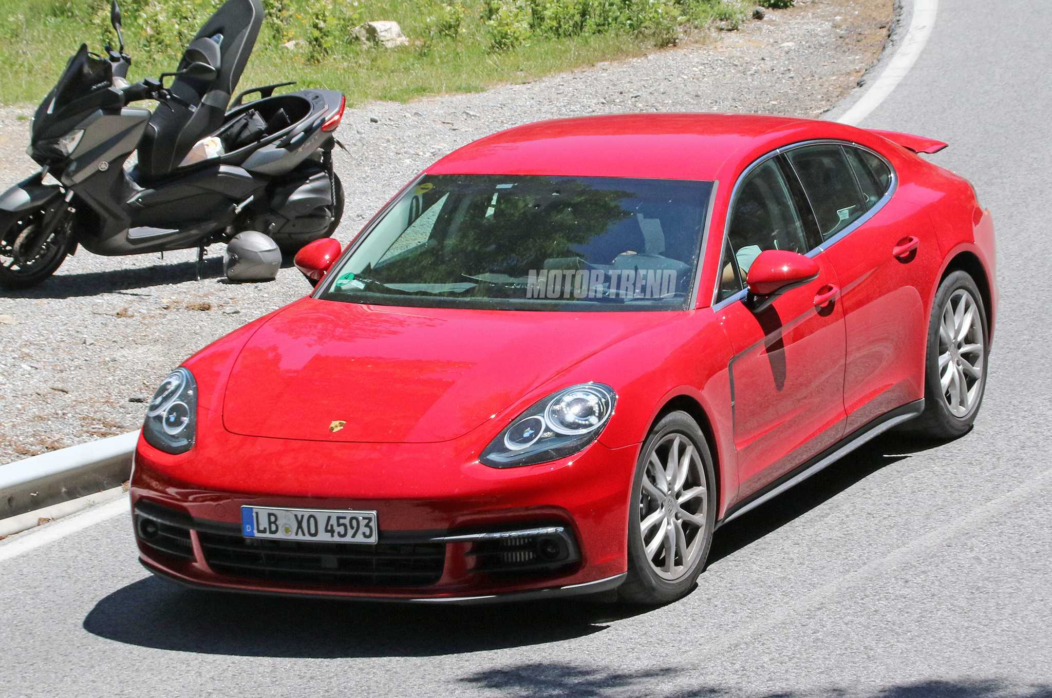 Teaser Image for Porsche Panamera Released Before June 28 Debut