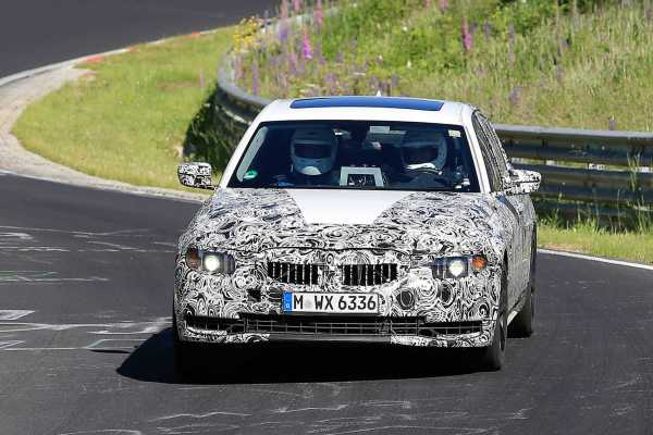 2018 BMW 3 Series Spy
