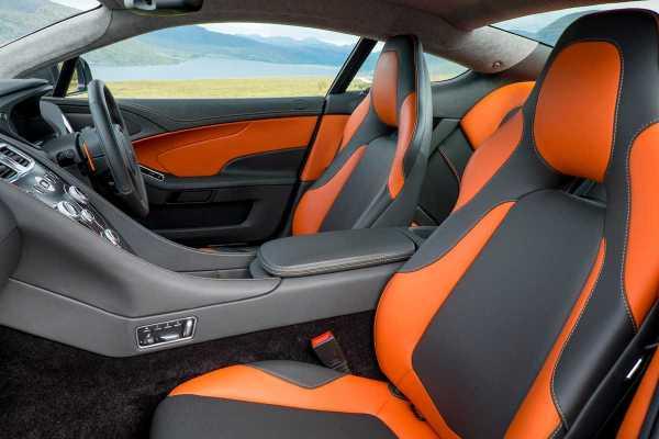 Aston Martin V12 interior
