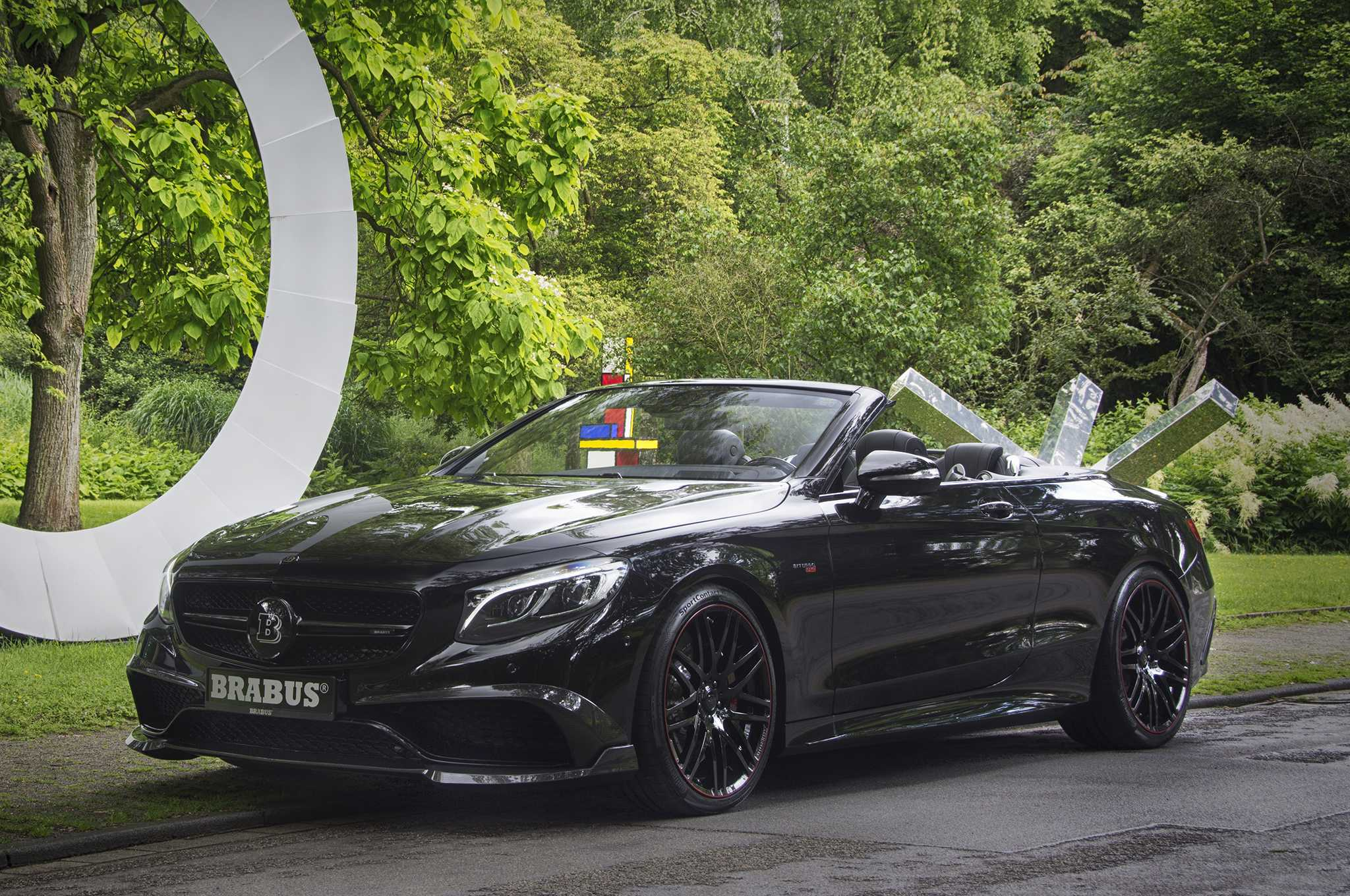 New Brabus is Mercedes AMG S63 Cabriolet With Booster Performance
