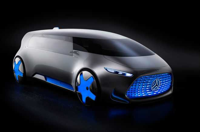Mercedes Benz All-Electric SUV