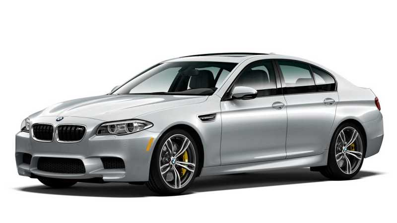 2016 BMW M5 Pure Metal Silver Limited Edition