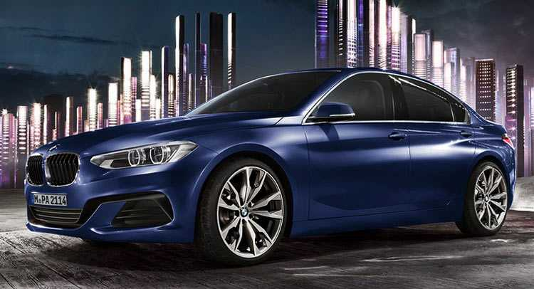 BMW Launches 1 Series Sedan Exclusively For The Chinese Market