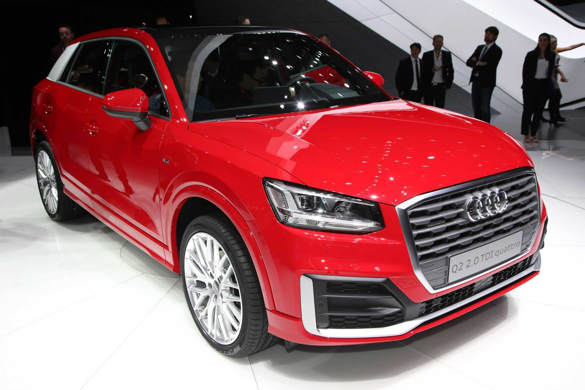 Audi Q2 Crossover Lineup Specs and Pricing Announced