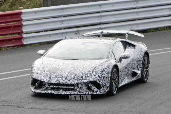 Lamborghini Huracan Superleggera front